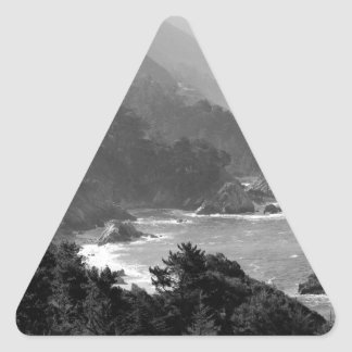 B&W Big Sur Triangle Sticker