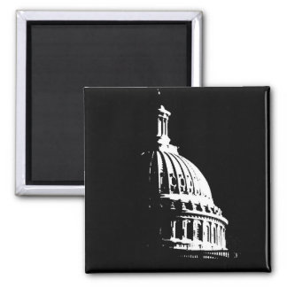 B&W Capital Building Magnet