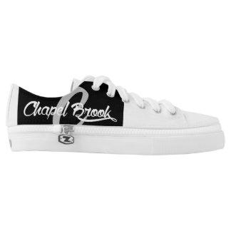 b/w chapel brook canvas shoes for women