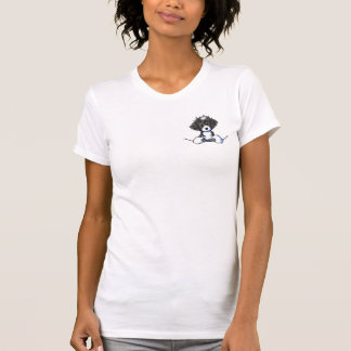 B/W Cockapoo Pocket Puppy T-Shirt