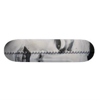 b&w deck bolted skate board deck