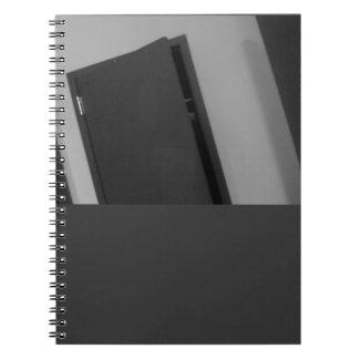 B & W Door Note Book