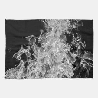 B&W Flame Kitchen Towel