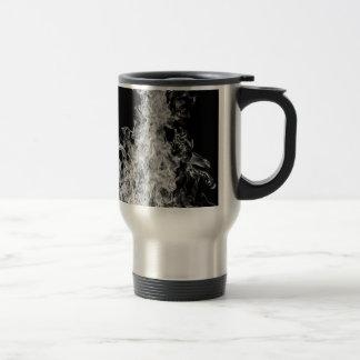B&W Flame Travel Mug