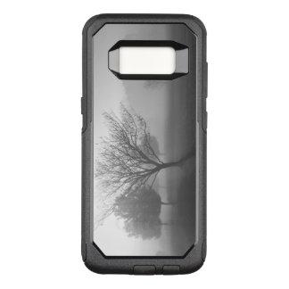 B&W Foggy Morning Sunrise OtterBox Commuter Samsung Galaxy S8 Case