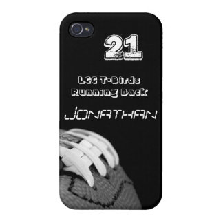 B&W FOOTBALL IPHONE CASE iPhone 4/4S COVER