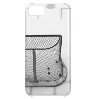 B&W hockey goal iPhone case