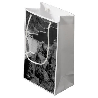 B&W Hoover Dam Small Gift Bag