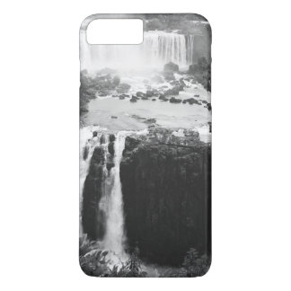 B&W Iguazu Falls iPhone 7 Plus Case