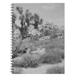 B&W Joshua Tree National Park 3 Notebooks