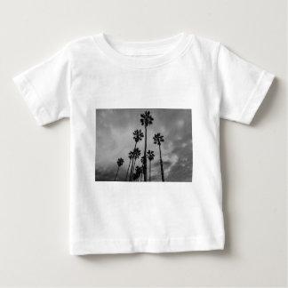 B&W Los Angeles palms Baby T-Shirt