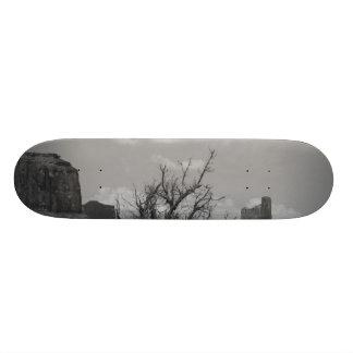 B&W Monument Valley in Arizona/Utah 3 Skate Board