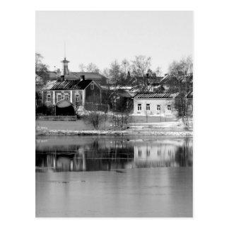 B&W Oulu 3 Postcard