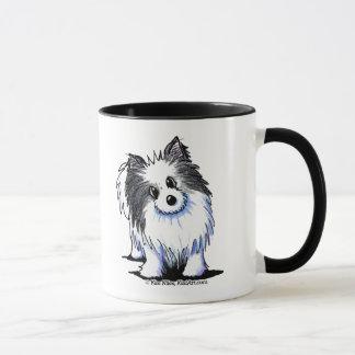 B/W Pom Mug
