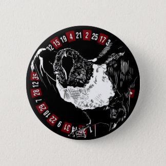 B&W Raven 2 Inch Round Button