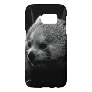 B&W red panda Samsung Galaxy S7 Case