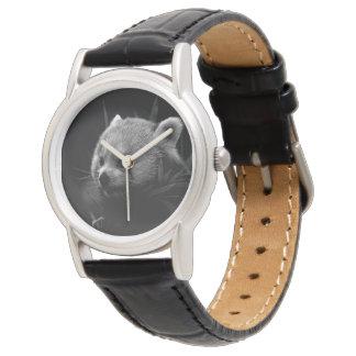 B&W red panda Watch