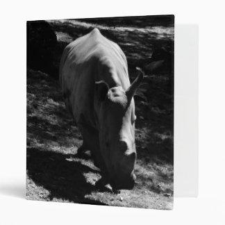 B&W Rhinozeros 3 Ring Binder