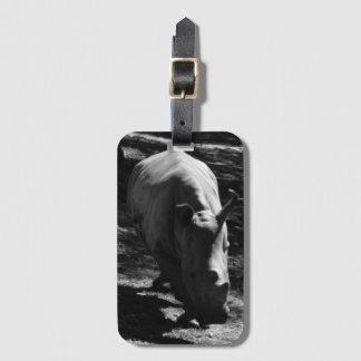 B&W Rhinozeros Luggage Tag