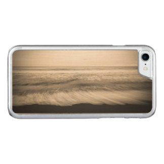 B&W seascape, Hawaii Carved iPhone 7 Case