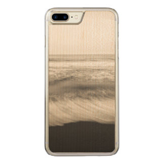 B&W seascape, Hawaii Carved iPhone 7 Plus Case