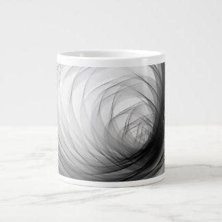 B&W Tunnel Spiral1 - Coffee Mug