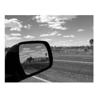 B&W Uluru 4 Postcard