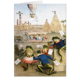BA3G10461FAC01Z-Italian Frog News Scene 1 Art Card