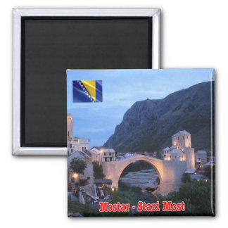 BA - Bosnia and Herzegovina - Mostar Stari Most Magnet