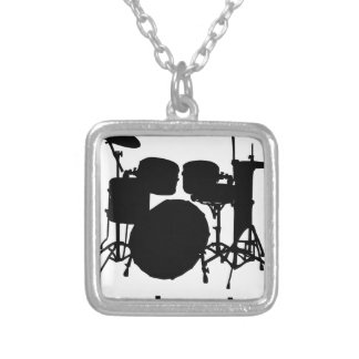 Ba Dum Tss Silver Plated Necklace
