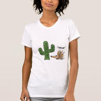 BA- Funny Cartoon Porcupine and Cactus T-shirt