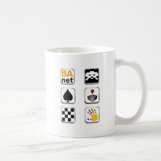 BA.net iGames - Apple Icons Classic White Coffee Mug