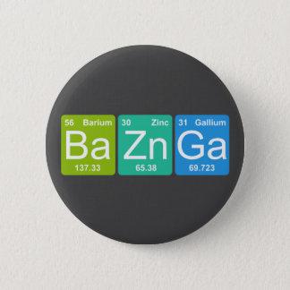 Ba Zn Ga! Periodic Table Elements Button