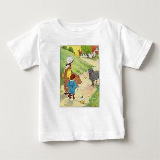 Baa, baa, black sheep, Have you any wool? Baby T-Shirt