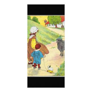 Baa, baa, black sheep, Have you any wool? Rack Cards