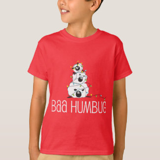 Baa Humbug - Christmas Sheep T-Shirt