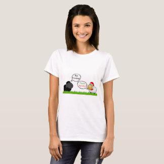 Baa Humbug - Fleece Navidad T-Shirt