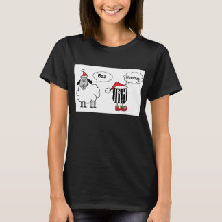 Baa Humbug Funny Festive T-Shirt
