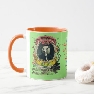 Baach Funny Sheep Great Animal Composer J.S. Bach Mug