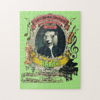 Baach Great Animal Composer Bach Parody Jigsaw Puzzle