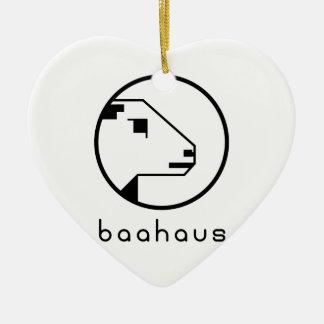 Baahaus Ceramic Ornament