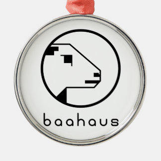 Baahaus Metal Ornament