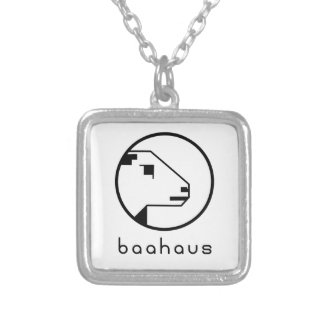 Baahaus Silver Plated Necklace