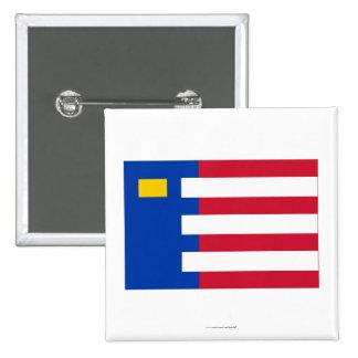 Baarle-Nassau Flag 2 Inch Square Button