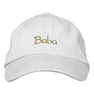 Baba Embroidered Baseball Caps