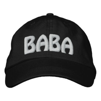BABA EMBROIDERED HAT