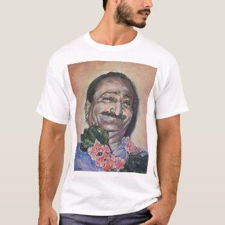 Baba in peach T-Shirt