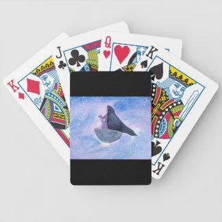 Baba Yaga Bicycle Playing Cards