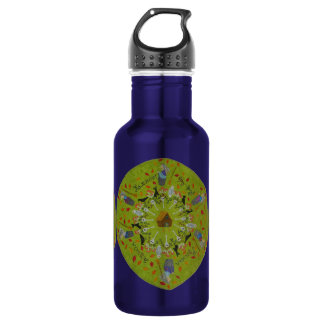 Baba Yaga Mandala 532 Ml Water Bottle