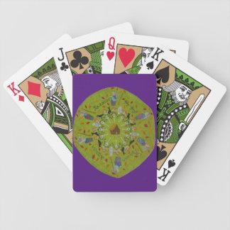 Baba Yaga Mandala Bicycle Playing Cards